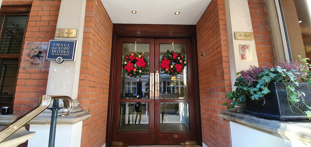 Wreaths On Doors